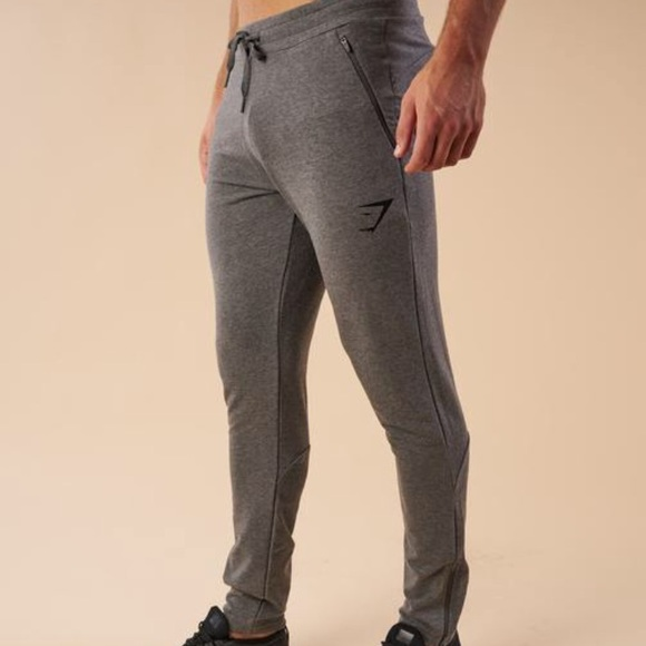 748ff88523 Gymshark men's tapered-fit bottoms
